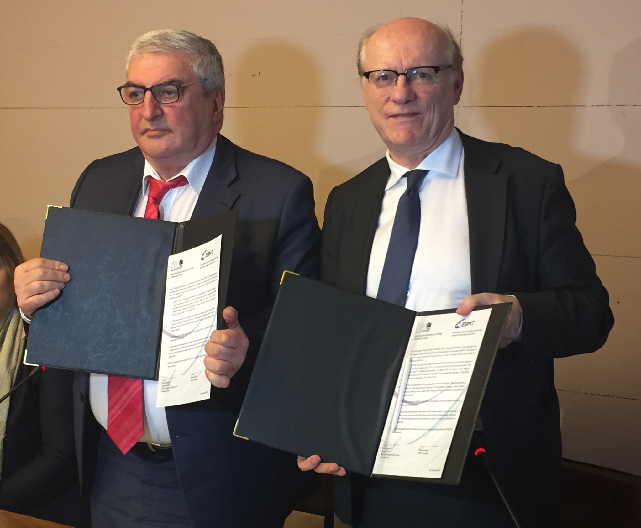 High Technology Medical Centre And EBMT Agreement