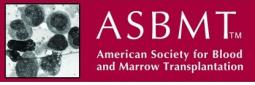 ASBMT American Society for Blood and Marrow Transplantation