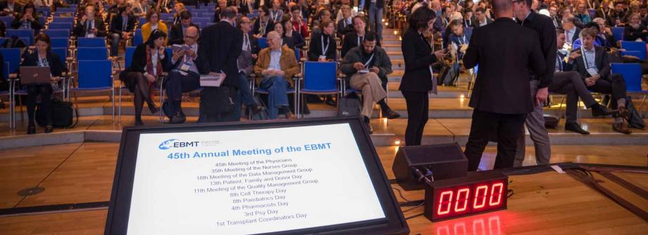 45th Annual Meeting of the EBMT