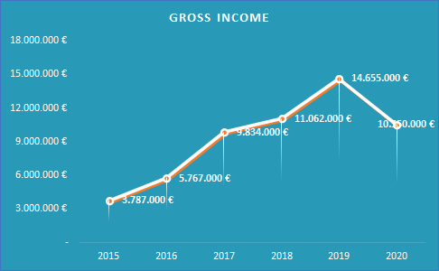 Financial Highlights 2020_Gross Income